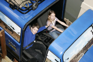 Kids ready to ride Wild Earth