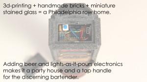 A 3d-printer, a tap handle and a dream...