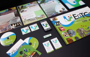 ETC's The RideWorks Branding Material