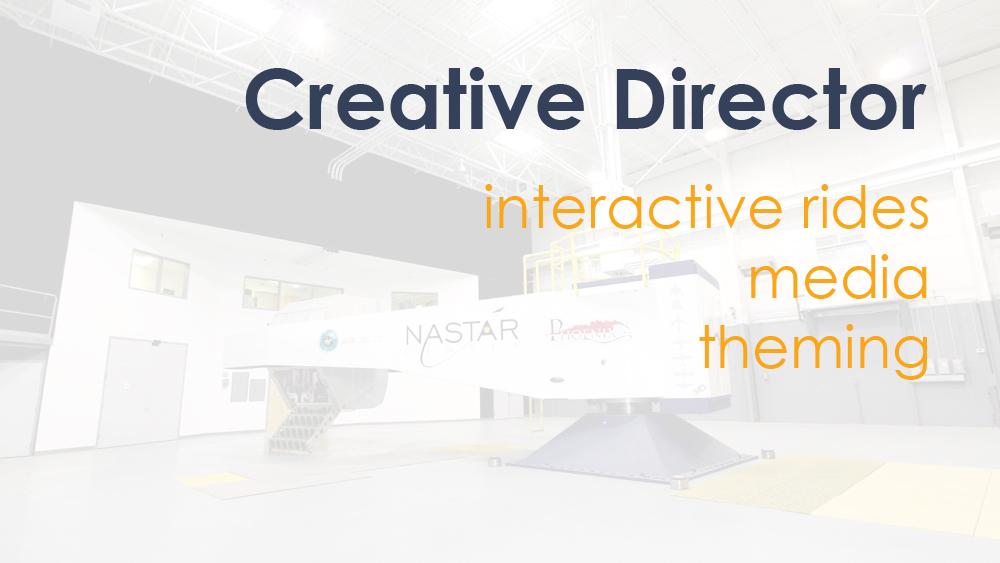 Work under my creative direction.