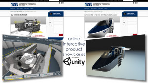 Interactive Unity3d Product Viewers